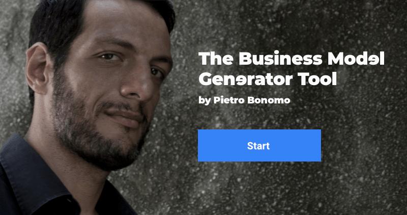 The Business Model Generator by Pietro Bonomo